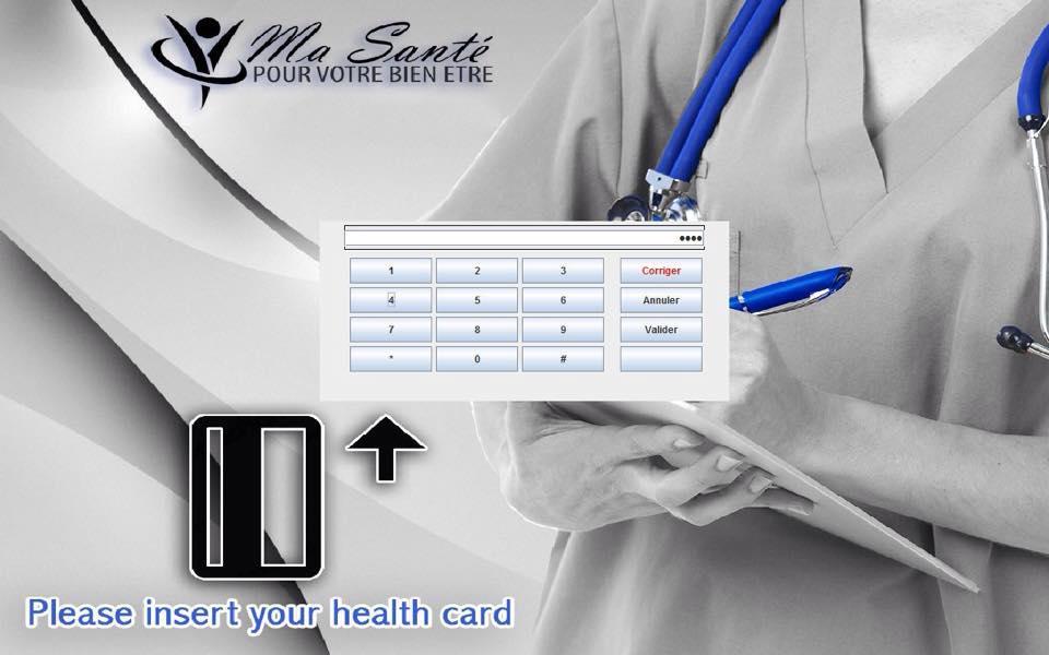 Ma Santé Health Card